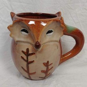 Adorable Fox Mug by Gibson Home